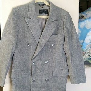 Pierre Cardin Men's 100% Wool Coat
